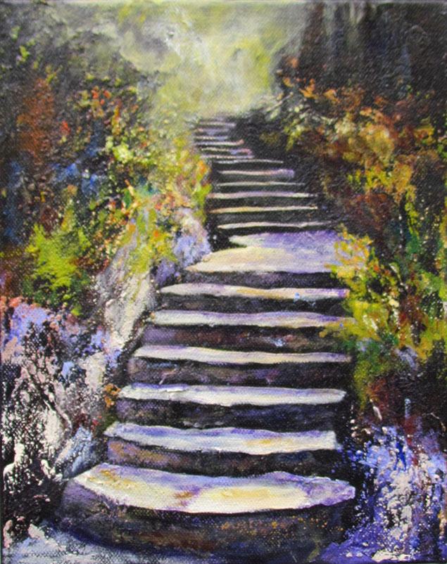 Upward Journey by Shirley Sarens