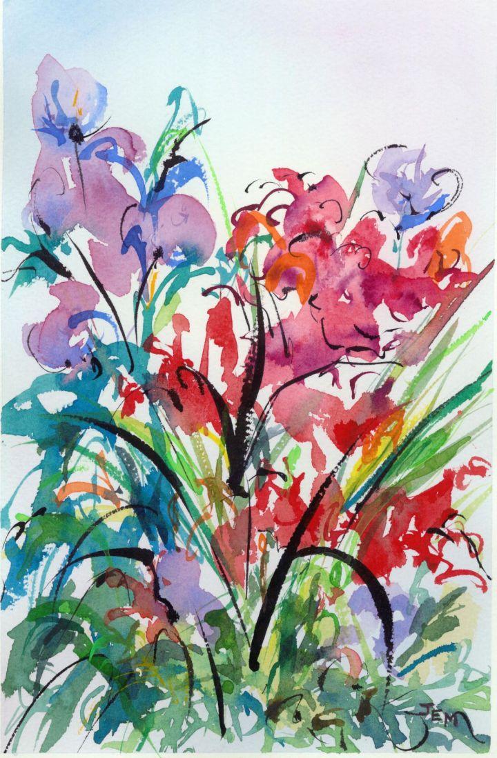 Flowers by Joan Easton