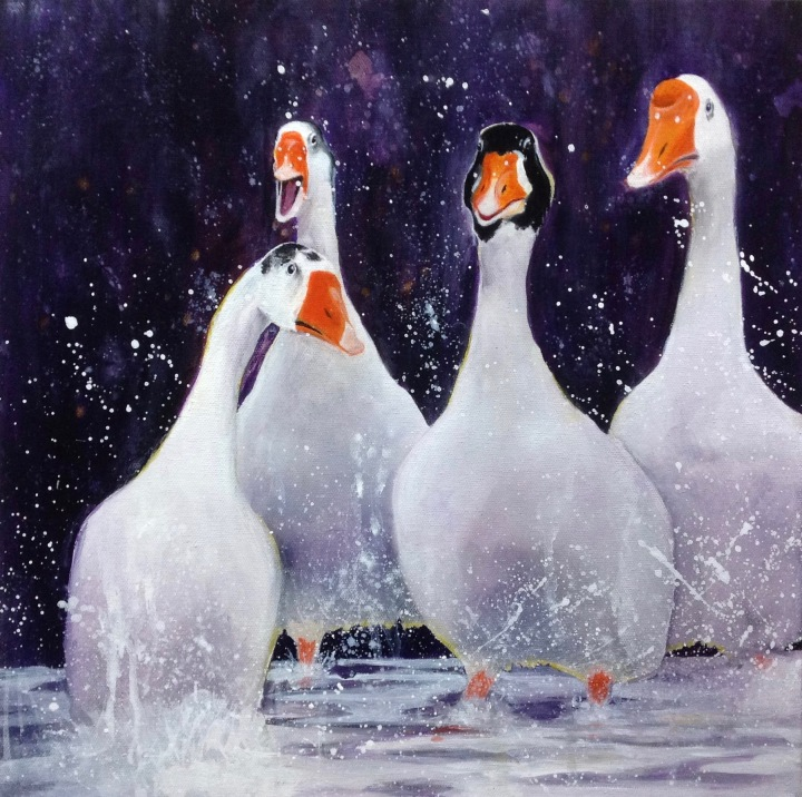 Geese by Kathryn Compton